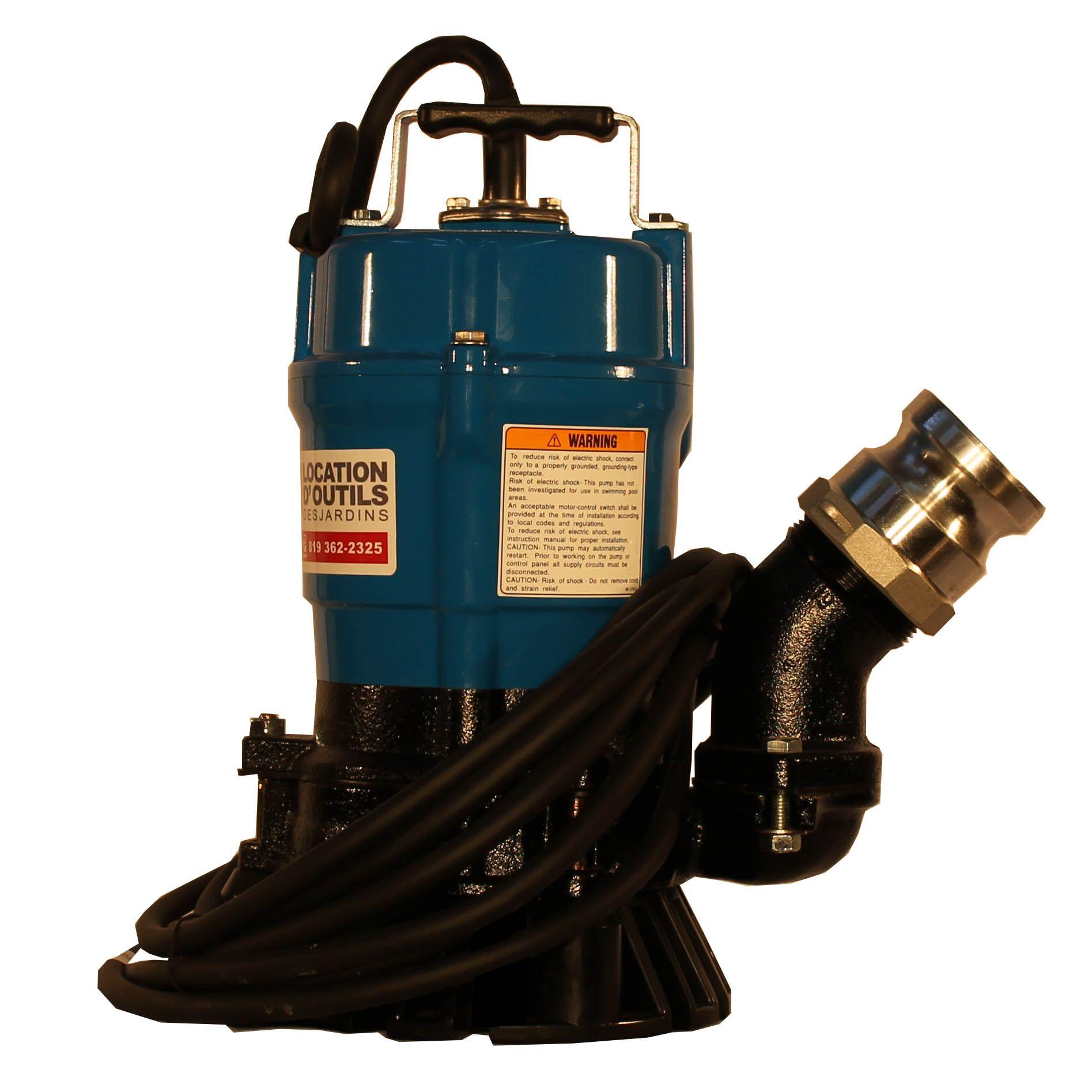Pompe électrique 2po