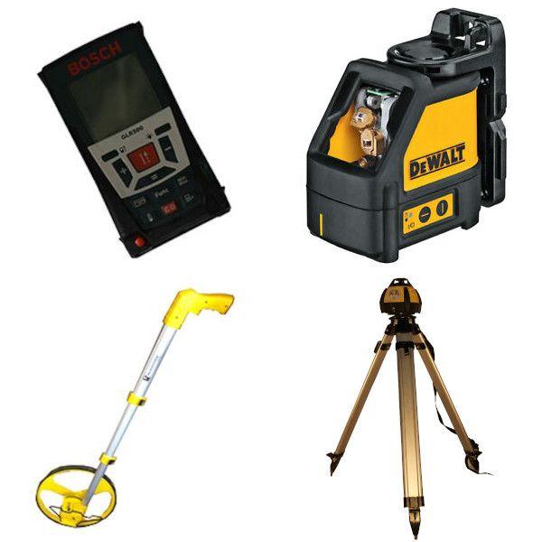 Niveau laser / Mesureur