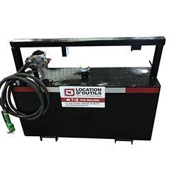 Pompe et réservoir à diesel